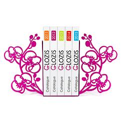 Упоры для книг Glozis Orchid G-006 30 х 20 см, КОД: 147576