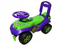 Автомобиль-каталка Doloni 0141 02 Зеленый Фиолетовый, КОД: 1005128