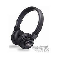 Беспроводные Bluetooth стерео наушники NIA X5SP с МР3, FM и колонкой Чёрный 45961, КОД: 944218