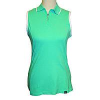 Поло женское Geox DARK AQUA GREEN M Зеленый W3210EDAQGR-M, КОД: 706056