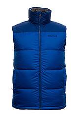 Чоловіча пухова безрукавка Marmot Guide Vest S Blue hubqbWB81608, КОД: 711273