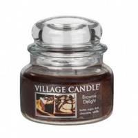 Свеча Village Candle Шоколадный Брауни 315г время горения до 55 часов, КОД: 1089631