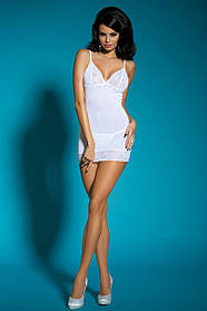 Сорочка и трусики Dolce Piccante Lingerie Белые, КОД: 276476