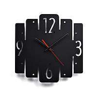 Деревянные настенные часы Moku Svartahaf 38 x 38 см 0106, КОД: 1074652
