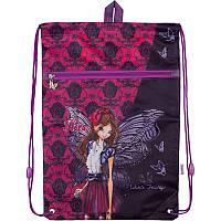 Сумка для обуви с карманом Kite Winx fairy couture Фиолетовый W18-601M, КОД: 706143