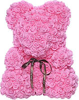 Bear Flowers Supretto Мишка из роз Розовый 5528-0001, КОД: 314741