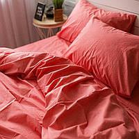 Комплект постельного белья Хлопковые Традиции Двухспальный 175x215 Коралловый PF08двуспальный, КОД: 353926