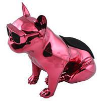 Bluetooth-колонка Aerobull Big dog metallic S004 Розовая 30-SAN339, КОД: 727033