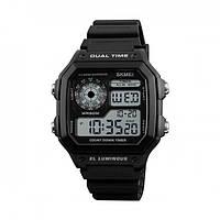 Мужские наручные часы SKMEI 001299 Черные 30-SAN359, КОД: 913274