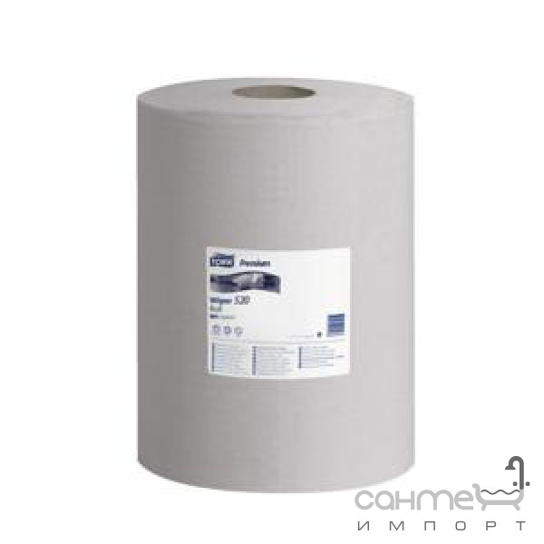 Аксессуары для ванной комнаты Tork Нетканый материал для удаления масла и жира в рулоне Tork 520337 серый