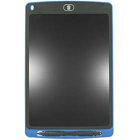 Графический планшет Lesko LCD Writing Tablet 10 для рисования с стилусом и кнопкой сохранения Blu, КОД: 1073664