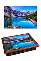 Поднос с подушкой Альпийский Рай 380-9711024, КОД: 176113