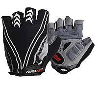 Велоперчатки PowerPlay S Черные 5007DSBlack, КОД: 977457