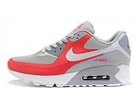 Женские кроссовки Nike Air Max 90 Hyperfuse Grey Pink размер 39 UaDrop109969-39, КОД: 233678