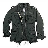 Куртка Surplus Regiment M 65 Jacket Schwarz Ge S Черный 20-2501-63-S, КОД: 260288