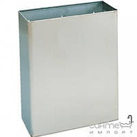 Аксессуары для ванной комнаты Nofer Урна для мусора 23 л Nofer 14077.S нержавеющая сталь