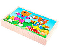 Деревянная игра Два медведя Руди Д182у tsi33058, КОД: 314579