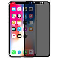 Защитное стекло Nillkin Privacy Glass Full Screen 3D AP+MAX для Apple iPhone X   XS Черный 685547, КОД: 1035216
