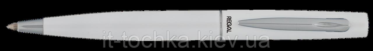 Шариковая ручка в подарочном футляре pb10, белый r80407.pb10.b