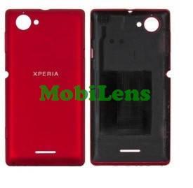 Sony C2105, C2104, Xperia L Задняя крышка красная, фото 2