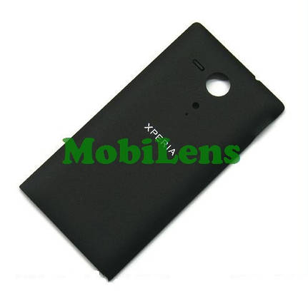 Sony C5302, C5303 Задняя крышка черная, фото 2
