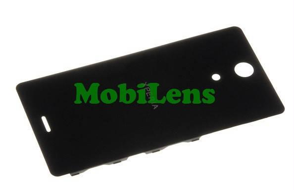Sony C5502, C5503, M36h, M36i, Xperia ZR Задняя крышка черная, фото 2