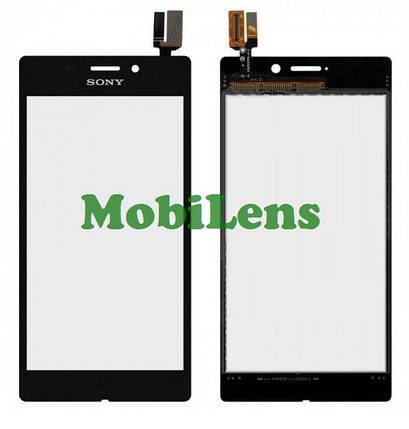 Sony D2403, Xperia M2 Aqua Тачскрин (сенсор) черный, фото 2