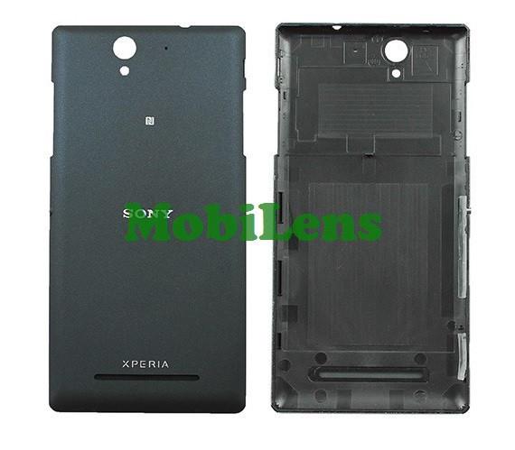 Sony D2502, D2533 Xperia C3 Dual Задняя крышка черная