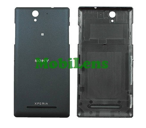 Sony D2502, D2533 Xperia C3 Dual Задняя крышка черная, фото 2