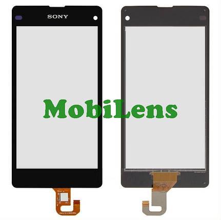 Sony D5503, Xperia Z1 Compact mini Тачскрин (сенсор) черный, фото 2
