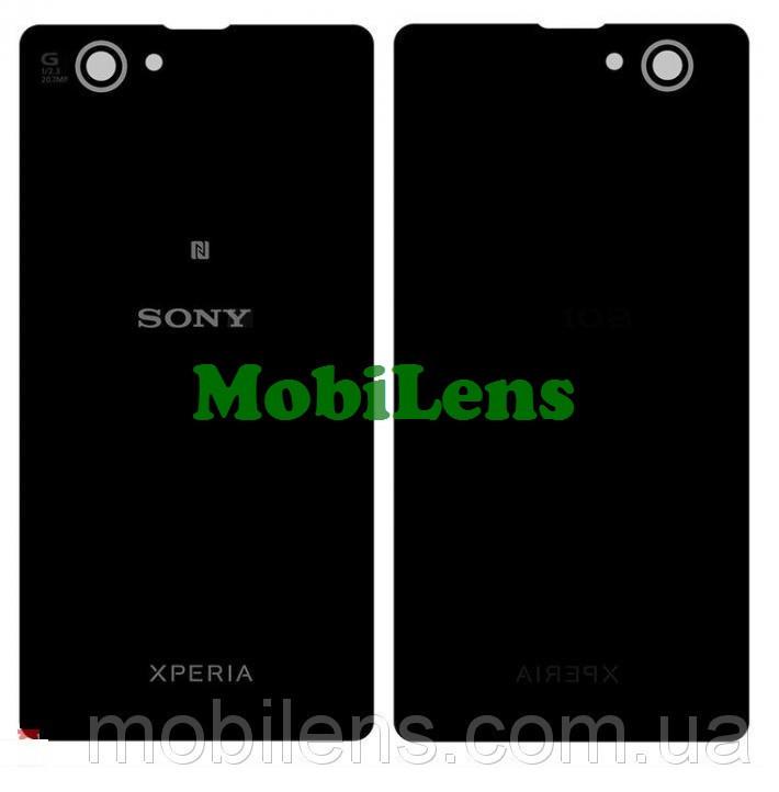 Sony D5503, Xperia Z1 Compact mini Задняя крышка черная