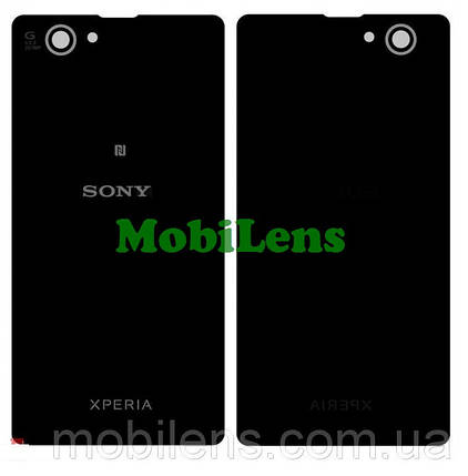 Sony D5503, Xperia Z1 Compact mini Задняя крышка черная, фото 2