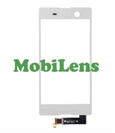 Sony E5633, E5603,E5606, E5653,E5663, Xperia M5 Тачскрин (сенсор) белый, фото 2