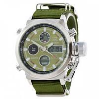 Мужские часы AMST Wristband Зеленые 1094-0005, КОД: 1022661