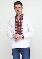 Мужская вышиванка УкрМода 46 р Белая chsv-19-01-46, КОД: 1024961