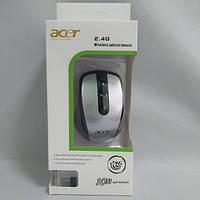 Беспроводная компьютерная мышка ACER 2.4G мышь Серая