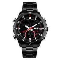 Часы Skmei 1146 Black BOX 1146BOXBK, КОД: 116390