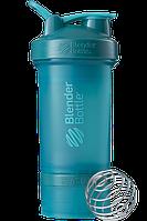 Шейкер спортивный BlenderBottle ProStak 650 мл с 2 контейнерами Teal PS 22oz Teal, КОД: 977471
