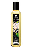 Массажное масло для эротического массажа Shunga Massage Oil Organica Natural 250 ml. Массажные масла и кремы