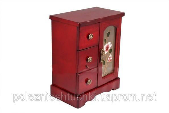 Шкафчик для украшений с креплением для цепочек