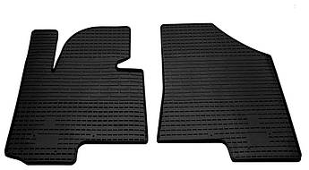 Коврики в салон резиновые передние для Hyundai IX35 2010-2015 Stingray (2шт)