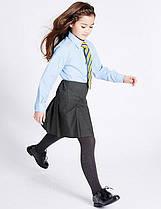 Школьная юбка серая на девочку 6-7-8-9-10 лет Girls' Pleated Skirts Marks&Spencer (Aнглия)