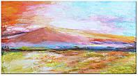 Картина на холсте YS-Art акриловыми красками 130х70 см Золотой берег HRR093, КОД: 1081574
