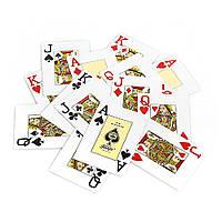 Карты для игры в покер Fournier Красный krut0707, КОД: 258512