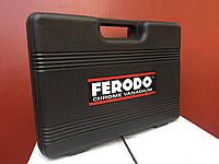Набор инструментов FERODO 108 едениц головки ключи биты трещотка