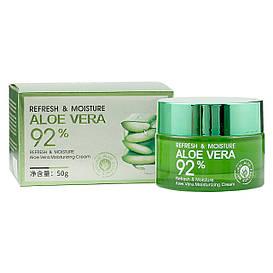 Крем для лица Bioaqua Refresh & Moisture Aloe Vera Moisturizing Cream