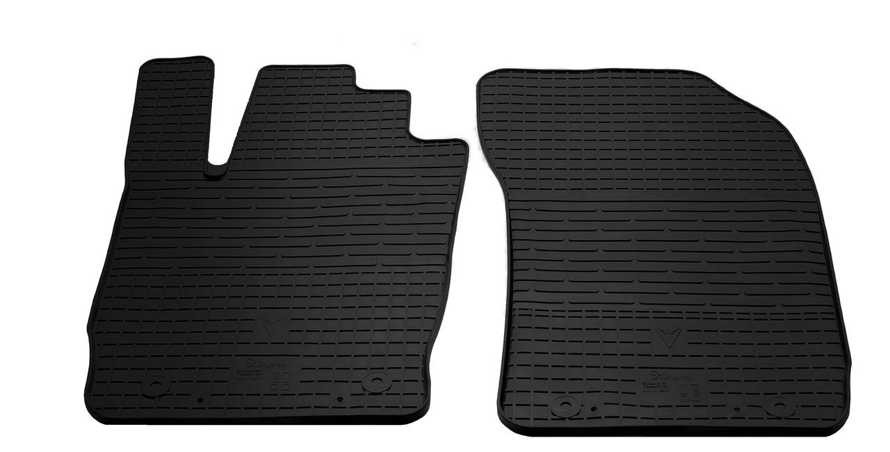 Коврики в салон резиновые передние для Audi A1 2010- Stingray (2шт)
