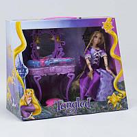 Игровой набор ZT 8682 (24/2) кукла + туалетный столик, звук, свет, с аксессуарами, 2 вида, в коробке