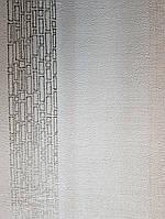 Обои виниловые на флизелине Marburg Loft 59322 полосы размытые кремовые кофе с молоком золотистые, фото 1