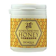 Парафиновая маска для рук BioAqua Honey Hand Wax с экстрактом меда